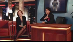 Jose Yenque with Sigourney Weaver